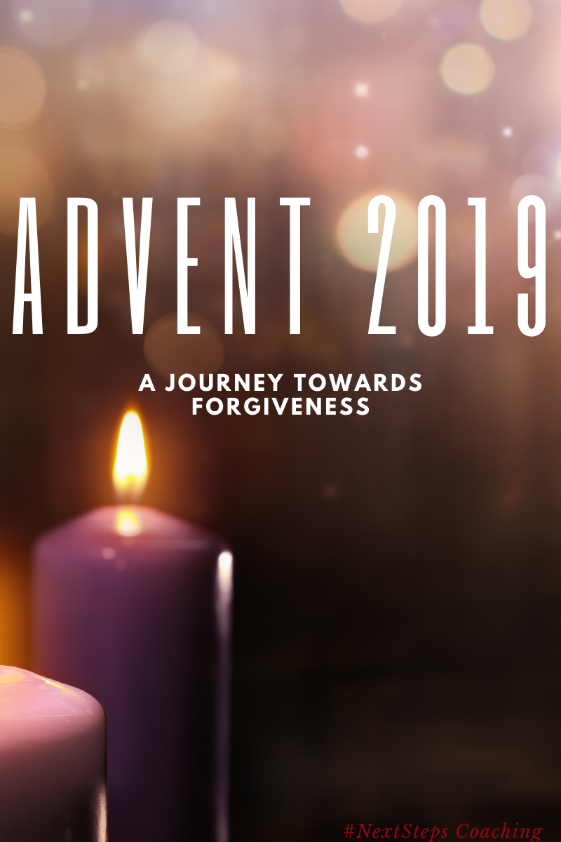 Blog Post Cover Photo: Advent 2019 A Journey Towards Forgiveness
