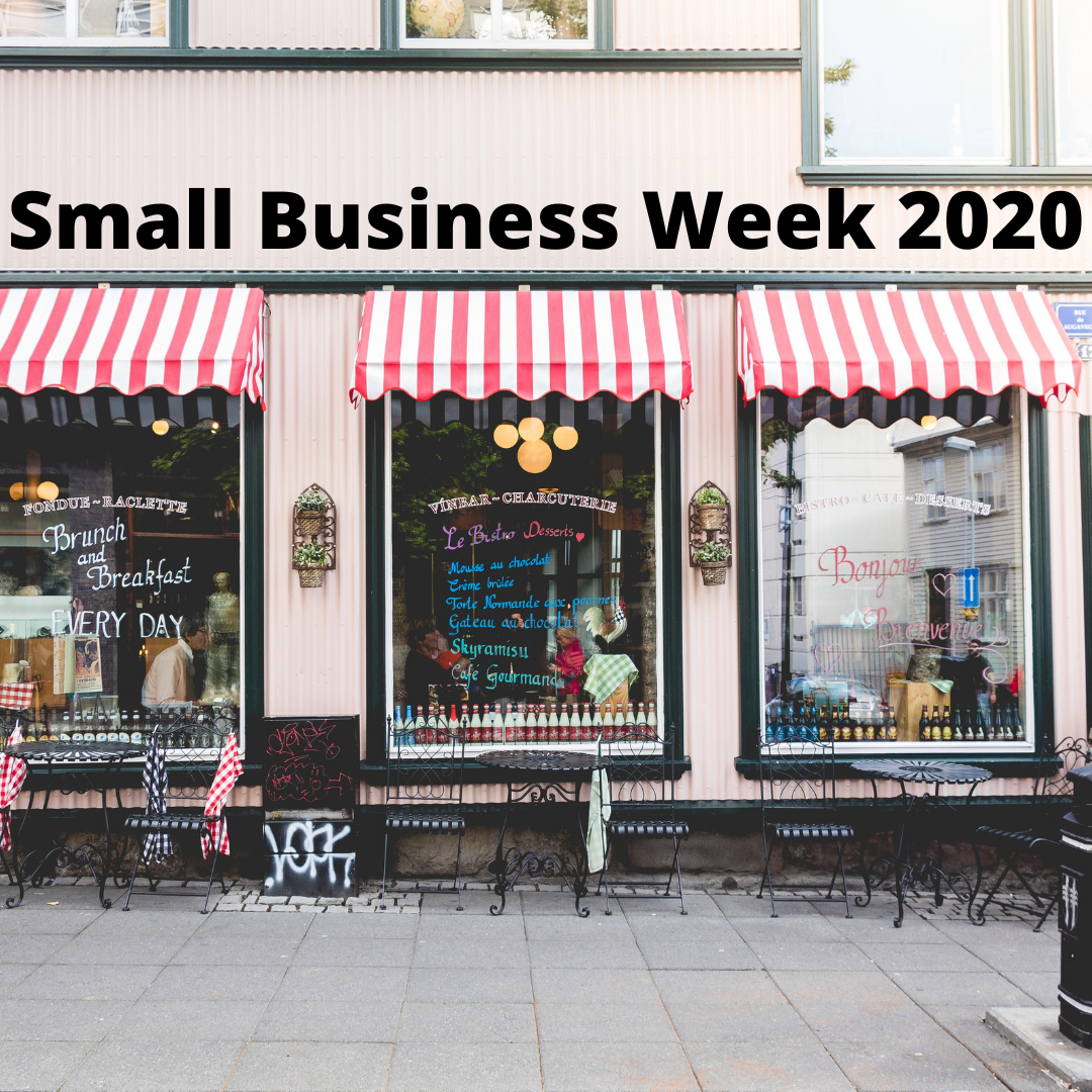 National Small Business Week 2020 Blog Post Cover