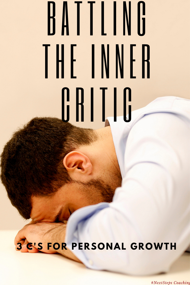 Blog Post Cover: Inner Critic and Personal Growth