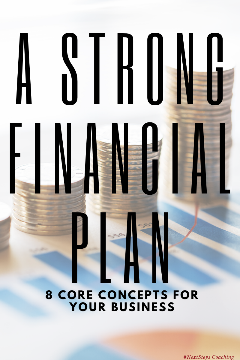 Blog Post Cover: A Strong Financial Plan