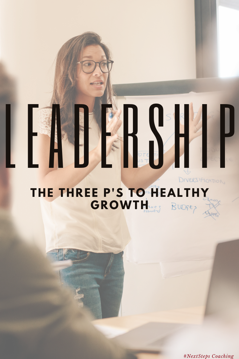 Three P's to Strong Leadership