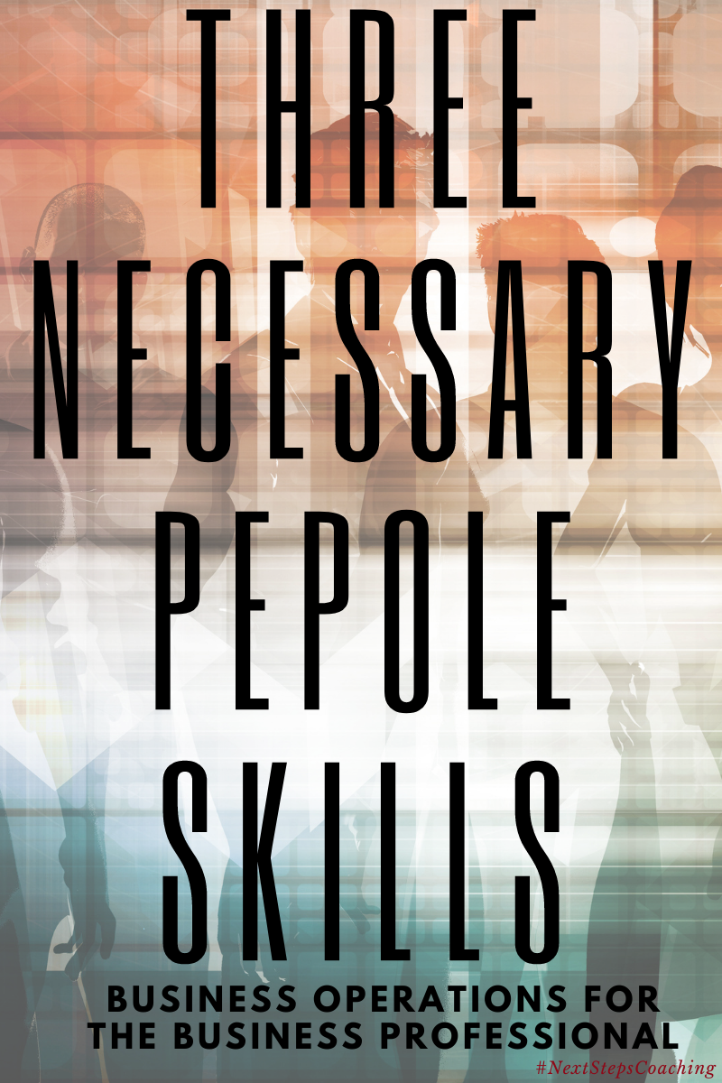 Blog Post Cover: Business Operations Professional People Skills